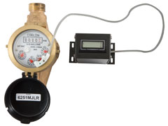 Meter with Remote Counter